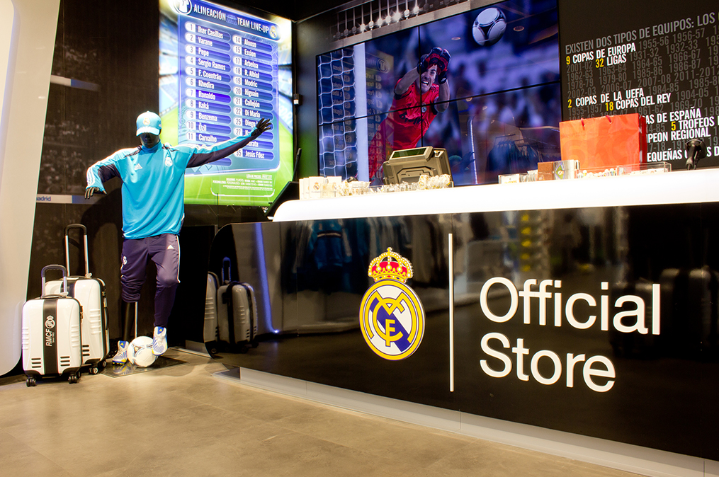 Apertura de la primera Real Madrid Official Store en la calle Goya, 77 de Madrid - CREAPROJECTS