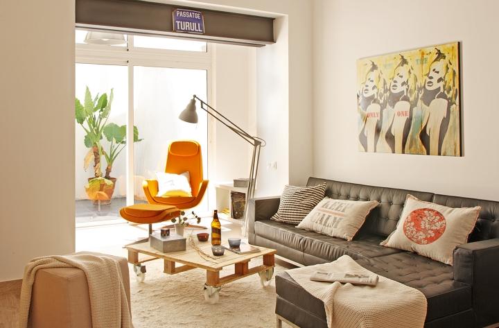 Loft d 39 estil n rdic industrial al barri de gr cia de for Programas de interiorismo